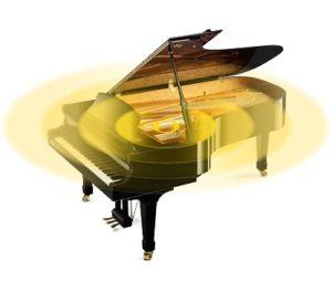 グランドピアノの発音イメージ