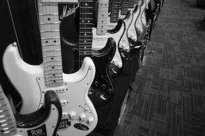 ギター陳列