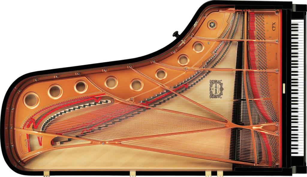 グランドピアノの構造