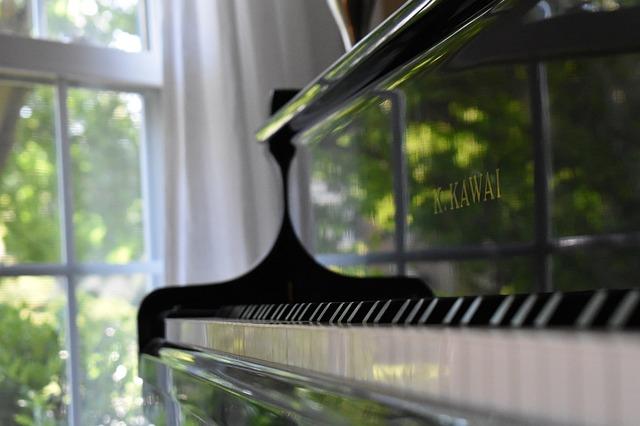 ピアノを部屋に置く